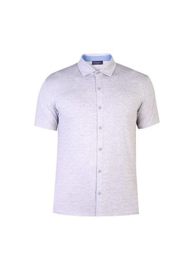 Abdullah Kiğılı Gömlek Gri